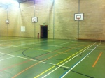 School Sports Hall - Netball Court