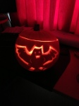Halloween Pumpkin Bat