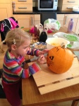 Halloween Pumpkin Drawing