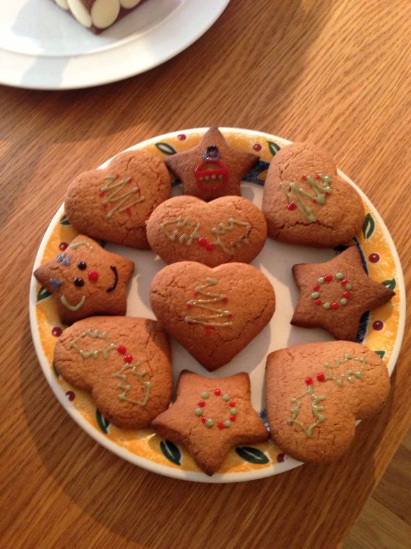 Gingerbread Biscuits Decorated