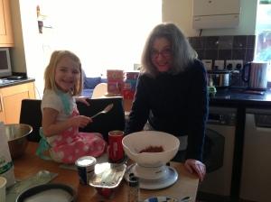 Grandma & Ava