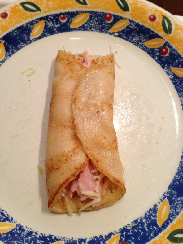 Ham and Cheese pancake