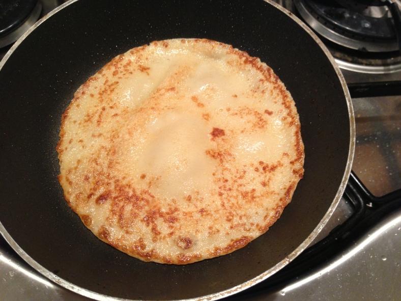 Pancake in the pan