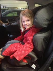 Big girl car seat